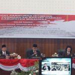 PJ. Bupati Minahasa Royke Mewoh Hadiri Sidang Paripurna DPRD Minahasa Dengarkan Pidato Kenegaraan Presiden RI