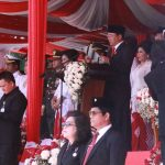 HUT RI 2018 di Sulut, Andrei Angouw Perankan Ketokohan Soekarno dan Dianugerahi Bintang LVRI