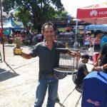 Baby Renggo Juara Kelas LB Paud pada Lomba Burung Berkicau di Manado