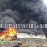 Pabrik Busa di Kawiley Ludes Dilalap Si Merah