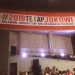 Inilah Sapta Tekad Relawan Jokowi Dalam Rapat Umum di Sentul