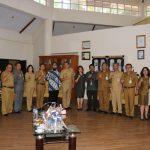 Wali Kota Tomohon Terima Kunjungan Tim KPK-RI, Koordinasi Dan Supervisi Pencegahan Korupsi