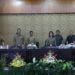 Hadiri Paripurna DPRD Ranperda Perubahan APBD 2018 Kota Tomohon, Wali Kota Tomohon Apresiasi DPRD