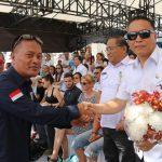 Turut Serta di Pawai Pembangunan, Wali Kota Tomohon Apresiasi JIT