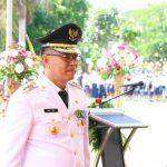 Wali Kota Tomohon Jimmy Eman, Irup Peringatan HUT RI Ke-73 di Kota Tomohon
