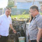 Direktur PDAM Tomohon Semuel Gosal Dampingi Wali Kota,  Pantau Program Hibah Air Minum Perkotaan