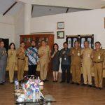 Ketua DPRD Miky Wenur Hadiri Kunjungan Tim KPK Di Pemkot Tomohon