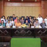 Sekretariat DPRD Tomohon Terima Kunjungan Sekretariat DPRD Kabupaten Halmahera Utara