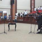 Mengundurkan diri sejak Mei 2017, Legislator Sulut Pdt Denny Sumolang akhirnya di PAW dan digantikan H. Arifin Dunggio