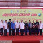 Rabies se-Dunia sukses di gelar, Minahasa Pilot Project Penanggulangan Bahaya Rabies