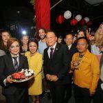 Ketua DPRD Tomohon Miky Wenur Hadiri Toast Kenegaraan Pemkot Tomohon Peringatan HUT Kemerdekaan RI Ke-73