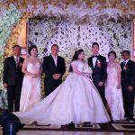 Wali Kota Tomohon Jimmy Eman Hadiri Resepsi Pernikahan Anak Dari Ir Djoike Karouw