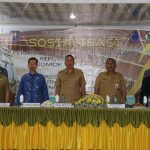 Wali Kota Tomohon Jimmy Eman, Sosialisasikan Permendagri Nomor 38 Tahun 208