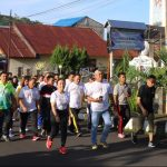 Ketua DPRD Miky Wenur Jalan Sehat Bersama Pemkot Tomohon