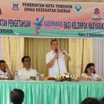 Pemkot Tomohon Gelar Penyuluhan Peningkatan Pengetahuan GERMAS Bagi Kelompok Masyarakat