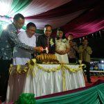 Mandagi Wakili Wali Kota Hadiri Perayaan HUT Ke-9 Kelurahan Taratara