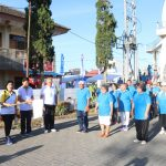 Caroles, Wakili Wali Kota Buka Rangkaian HUT Ke-24 Wilayah Tomohon Dua