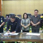 Wali Kota JFE Tandatangani Nota Kesepakatan Rancangan KUA-PPAS APBD 2019