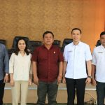 Sekertariat DPRD Kota Tomohon Terima Kunker DPRD Kabupaten Sitaro