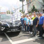 Rally Wisata Rohani, Wali Kota Eman:  Mantapkan Kebersamaan dalam Jemaat dan Masyarakat