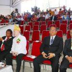 Anggota DPRD Tomohon Erens Kereh, Hadiri Paripurna Istiwewa DPRD HUT Ke-28 Kota Bitung