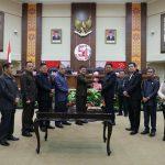 Ketua DPRD Sulut Andrei Angouw Pimpin Dua Agenda Rapat Paripurna