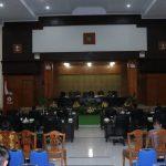 Wenur Pimpin Paripurna DPRD Rancangan KUA-PPAS APBD T.a 2019