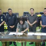DPRD Kota Tomohon Paripurna Penandatanganan Rancangan KUA-PPAS APBD 2019