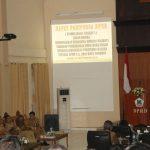 DPRD Tomohon Gelar Rapat Paripurna Tanggapan Walikota Terhadap Pemandangan Umum Fraksi-fraksi