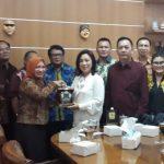 Wenur Pimpin Banggar DPRD Tomohon, Kunjungi DPRD Kabupaten Purwakarta