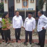 Walikota JFE Pimpin Kunker Ke Kota Tangerang Selatan Dan Kota Depok