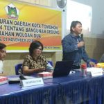 James Kojongian Sosialisasikan Perda Bangunan Gedung di Woloan Dua