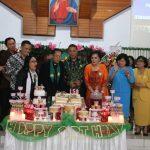 Walikota JFE Dan Wawali SAS Hadiri HUT Ke-158 Jemaat GMIM Pniel Kayawu Wilayah Kakaskasen