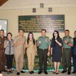 Irjenad TNI Pantau Langsung Progres TMMD di Kota Tomohon, Walikota JFE Beri Apresiasi