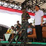 Walikota Jimmy Eman Hadiri Upacara Penutupan TMMD Ke-103 Tahun 2018