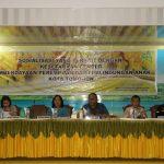 Lolowang Wakili Walikota Hadiri Sosialisasi Kesetaraan Gender dan Pemberdayaan Perempuan dan Perlindungan Anak