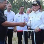 VAP Serahkan Alsintan Bantuan Kementerian Pertanian RI