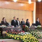DPRD Kota Tomohon Gelar Rapat Paripurna Mendengarkan Pidato Kenegaraan Presiden