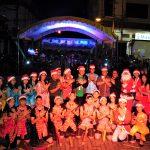 SET, turut meriahkan Tomohon Evening Christmas Parade
