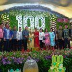 Walikota Dan Wawali Tomohon, Hadiri HUT Ke 100 Oma Bobby