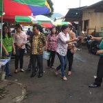 Pemkot Tomohon Dan BPOM RI, Sidak Bahan Makanan Di Pasar Beriman Tomohon