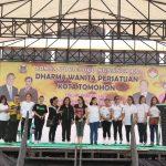 Rangkaian Kegiatan HUT DWP Ke-19, Dibuka Dengan Jalan Sehat Bersama Pemkot Tomohon