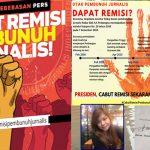 AJI Manado : Batalkan Remisi Pembunuh Jurnalis !