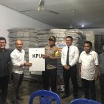 Polres Minut Backup KPU, Amankan Pemilu Serentak