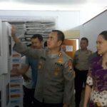 Kapolres Minut Pantau Kesiapan Penyelanggaraan Pemilu