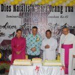 Walikota Tomohon Hadiri Dies Natalis Seminarium Agustinianum Tomohon Ke-41