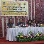 Pemkot Tomohon Sosialisasikan Perwako Sistem Dan Prosedur Pengelolaan Keuangan Daerah