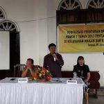 Frets Keles Sosialisasikan Perda Tibum di Wailan Dan Kakaskasen