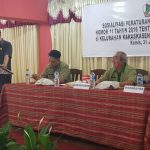 Senduk Sosialisasikan Perda KTR Di Kelurahan Kakaskasen Satu Dan Kakaskasen Dua