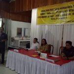 Sekretariat Dekot Tomohon Sosialisasi Perda Tibum di Kamasi dan Kamsi Satu